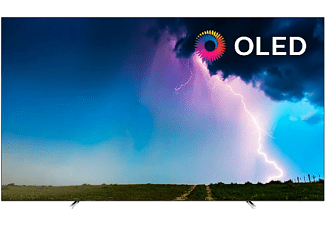 "TV OLED 65"" - Philips 65OLED754/12, UltraHD 4K, Quad Core P5, Smart TV, Dolby Atmos, 40W, Con Subwoofer, Negro"