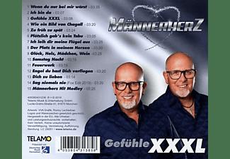 Männerherz - Gefühle XXXL  - (CD)