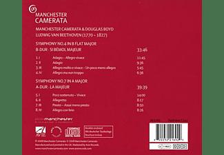 Douglas Boyd, Manchester Camerata - Sinfonien 4 & 7  - (CD)