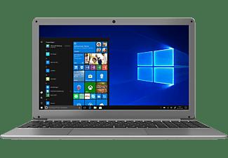 PEAQ Classic PNB C150 (I38512DT), Notebook mit 15,6 Zoll Display, 8 GB RAM, 512 GB SSD, Intel® HD-Grafik 5500, Silber
