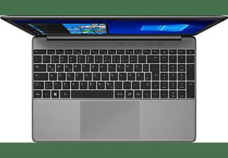 PEAQ Classic C150 (I38256DT), Notebook mit 15,6 Zoll Display, 8 GB RAM, 256 GB SSD, Intel® HD-Grafik 5500, Silber