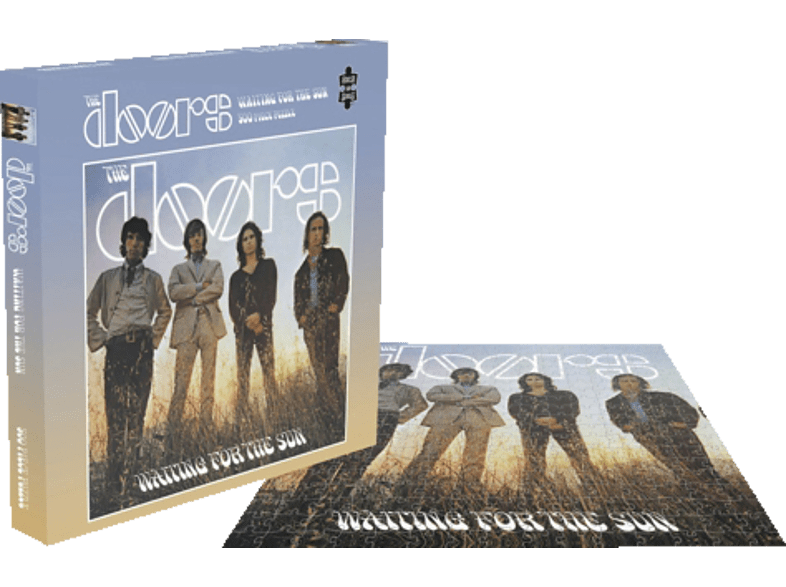 PLASTIC HEAD The Doors - Waiting For The Sun (500 Piece Puzzle)  Puzzle