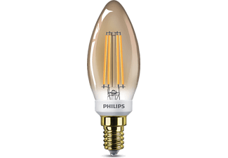 PHILIPS (LIGHT) 5 W (32 W), E14, Flame, Dimring
