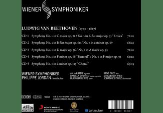 Wiener Symphoniker - Symphonies 1-9  - (CD)
