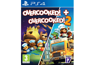 PS4 - Overcooked! + Overcooked! 2 /D