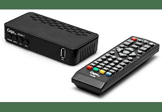 Receptor TDT - GigaTV HD209 T, MPEG-2/4, H.264, HDMI, HD, SD, DVB-T2 (TDT2)