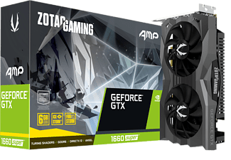 ZOTAC Grafikkarte Geforce GTX 1660 SUPER AMP Edition 6GB (ZT-T16620D-10M)