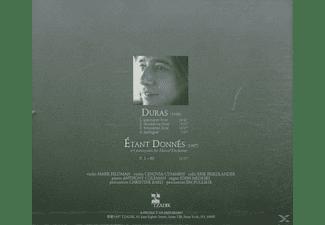 John Zorn - DURAS DUCHAMP  - (CD)
