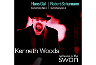Hans (1890-1987) Gal, Kenneth Woods - Gal Sinf.4/Schumann Sinf.2 [CD]