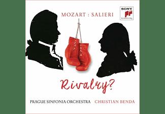 Christian Benda, Prague Sinfonia Orchestra - Mozart versus Salieri: Rivalry?  - (CD)