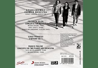Giraud Ensemble Chamber Orchestra, Mischa Cheung, Sergey Simakov - Gulda-Prokofiev-Poulenc  - (CD)