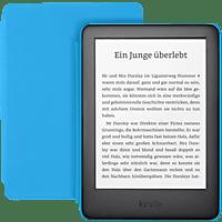KINDLE Kindle Kids Edition mit blauer Hülle  8 GB  eBook Reader Schwarzer Kindle mit kindgerechter Hülle in blau