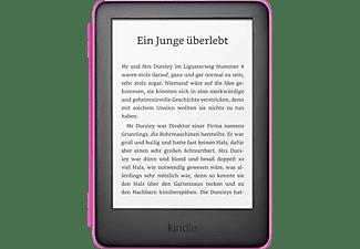KINDLE Kindle Kids Edition mit pinker Hülle  8 GB eBook Reader Schwarzer Kindle mit kindgerechter Hülle in pink