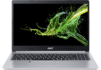 ACER Aspire 5 (A515-54G-50F2), Notebook mit 15.6 Zoll Display, Core™ i5 Prozessor, 8 GB RAM, 1 TB SSD, GeForce® MX250, Silber