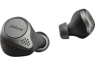 JABRA Elite 75t mit ANC, In-ear True Wireless Kopfhörer Bluetooth Titan Schwarz