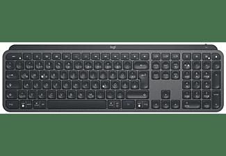 Teclado gaming - Logitech MX Keys, Inalámbrico, Retroiluminado, Negro