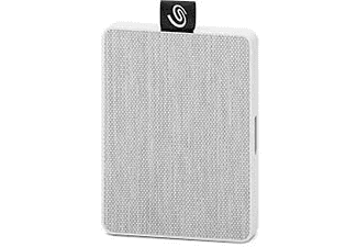 SEAGATE Disque dur externe 500 GB One Touch Blanc