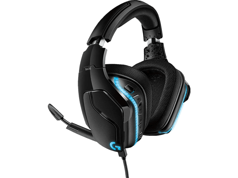 LOGITECH G635 LYGHTSYNC Gaming Headset Schwarz