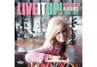 VARIOUS - LIVE IT UP!  - (CD)