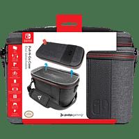 PDP LLC Konsolen-Tasche Elite Pull-N-Go für Nintendo Switch, grau Tasche für Nintendo Switch, Grau