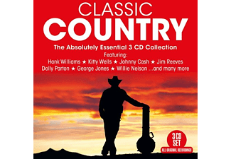VARIOUS - CLASSIC COUNTRY  - (CD)