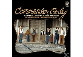 Commander Cody and His Lost Planet Airmen - LIVE IN SAN FRANCISCO 1971 -180GR-  - (Vinyl)