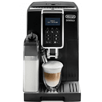 DE LONGHI Kaffeevollautomat Dinamica Cappuccino ECAM 350.55 B schwarz