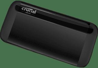 CRUCIAL X8, 1 TB SSD, extern, Schwarz