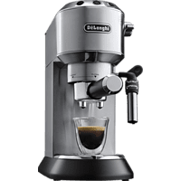 DELONGHI EC 685 Barista Bundle Espressomaschine & Kaffeemühle inkl. Zubehör Silber