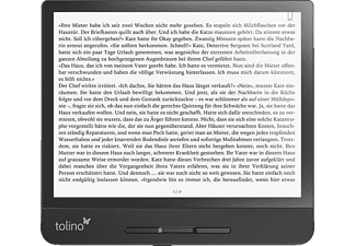 TOLINO epos 2  6 GB USB eBook-Reader Schwarz