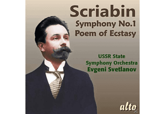 Ussr State Symphony Orchestra - Sinfonie 1/Poem of Ecstasy,op.54  - (CD)