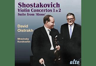 David Oistrakh, Leningrad Philharmonic Orchestra, Moscow Philharmonic Orchestra, Ussr State Symphony Orchestra - Violinkonzerte 1 & 2  - (CD)