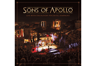 Sons Of Apollo - LIVE WITH THE PLOVDIV PSYCHOTI  - (CD)