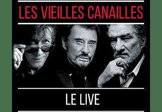 Les Vieilles Canailles - Les Vieilles Canailles:Le Live  - (CD)