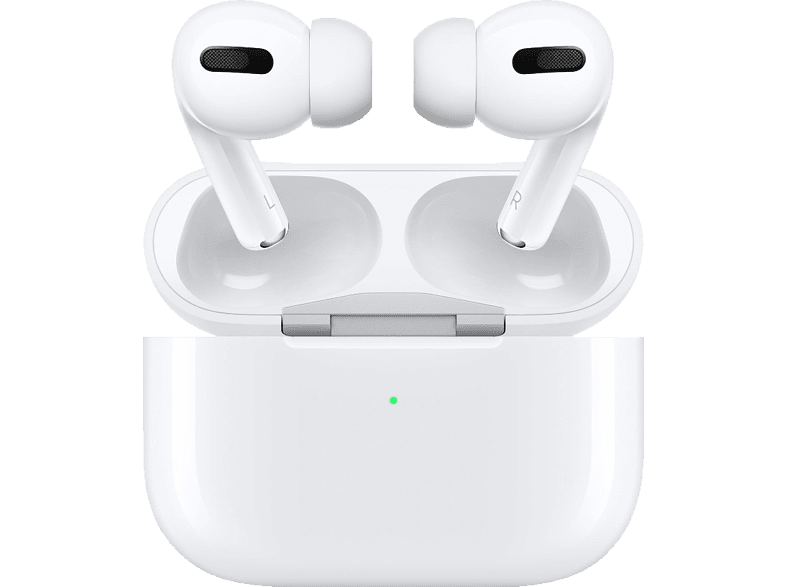 APPLE AirPods Pro, In-ear True Wireless Kopfhörer Bluetooth Weiß
