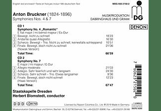 Staatskapelle Dresden - Sinfonie 4/7  - (CD)