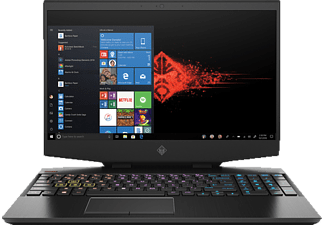 HP OMEN 15-DH0310NG, Gaming Notebook mit 15,6 Zoll Display, Core™ i7 Prozessor, 16 GB RAM, 512 GB SSD, GeForce RTX™ 2060, Schwarz