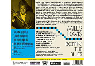 Miles Davis - Boppin' The Blues+Dig  - (CD)