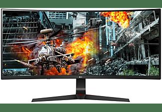 "Monitor gaming - LG 34GL750-B 34"" LED UltraWide FullHD 144Hz FreeSync Curva, Negro"