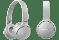 PIONEER SE-S3BT-H, Over-ear Kopfhörer Bluetooth Grau