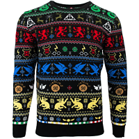 HARRY POTTER HOUSE CHRISTMAS JUMPER / SWEATER XL