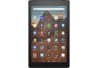 AMAZON Fire HD 10-Tablet mit Alexa, Tablet, 32 GB, 10,1 Zoll, Schwarz