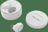 CORN TECHNOLOGY Onestyle TWS-BT-V8, In-ear True Wirless Kopfhörer Bluetooth Weiß