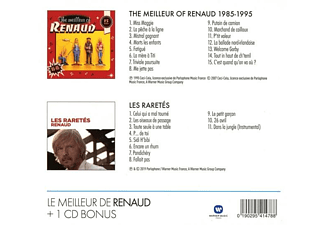 Renaud - Coffret 2CD (The meilleur of Renaud/Raretés)  - (CD)
