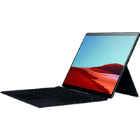 MICROSOFT Surface Pro X 8GB/256GB SQ1, Convertible mit 13 Zoll Display, SQ1™ Prozessor, 8 GB RAM, 256 GB SSD, Microsoft® SQ1™ Adreno™ 685 GPU, Schwarz