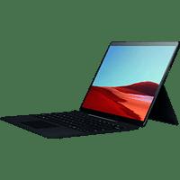 MICROSOFT Surface Pro X 16GB/256GB SQ1, Convertible mit 13 Zoll Display, SQ1™ Prozessor, 16 GB RAM, 256 GB SSD, Microsoft® SQ1™ Adreno™ 685 GPU, Schwarz