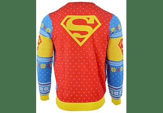 Superman Xmas Pullover XXL