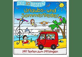 Simone Sommerland, Karsten Glück, Die Kita Frösche - Die 30 Besten Urlaubs- Und Sommerlieder [CD]