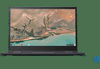 LENOVO Yoga Chromebook C630, Chromebook mit 15,6 Zoll Display Touchscreen, Core™ i5 Prozessor, 8 GB RAM, 128 GB Interner Speicher, Intel UHD Grafik 630, Mitternachtsblau