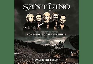 Santiano - Von Liebe,Tod Und Freiheit-Live  - (CD)